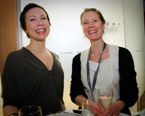 Elinor Thelander, Jadestone group och Kristina Holmberg, Connecta.