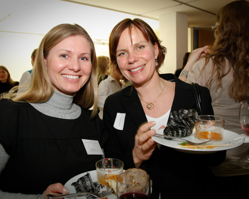 Madeleine Lindskog, Connecta och Ulrika Kullander, Lawson Software.